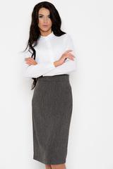 Неподвластный ни капризам моды, ни времени предмет женского гардероба. Будет смотреться эффектно как в составе строгого делового костюма, так и в соблазнительном вечернем образе. (Длина: 44,46,48 = 63см; 50=64см; 52=65см;)