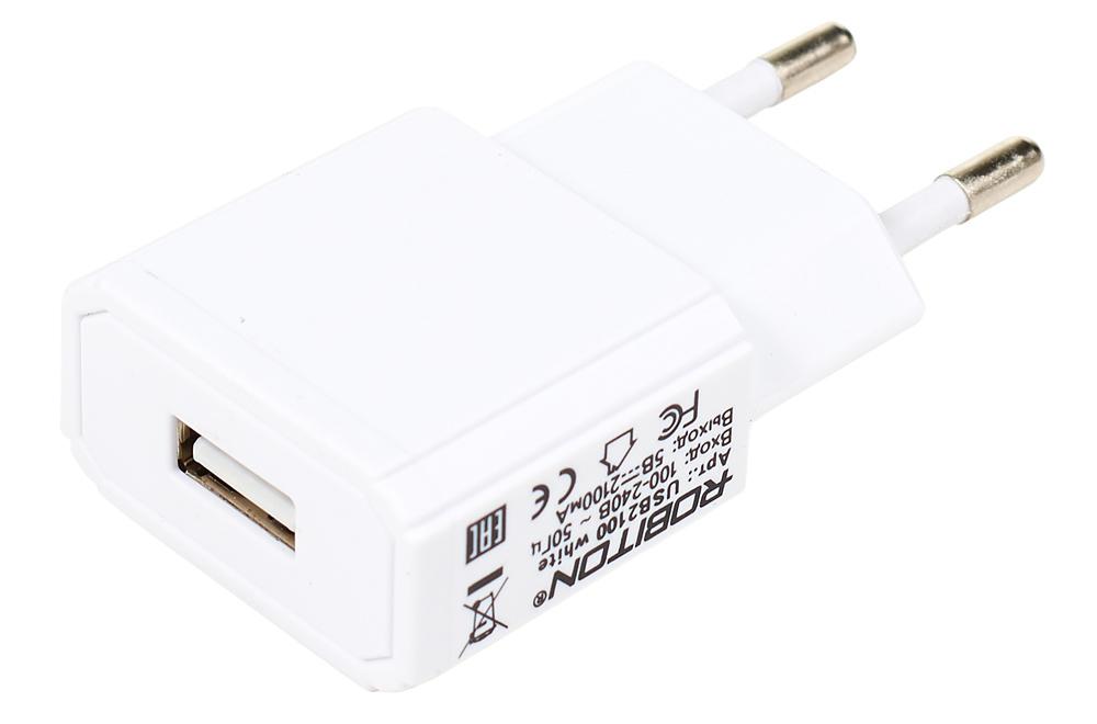 Импульсный блок питания с USB-разъёмом (5 В, 2100 мА ...: http://amperka.ru/product/usb-power-plug-2a
