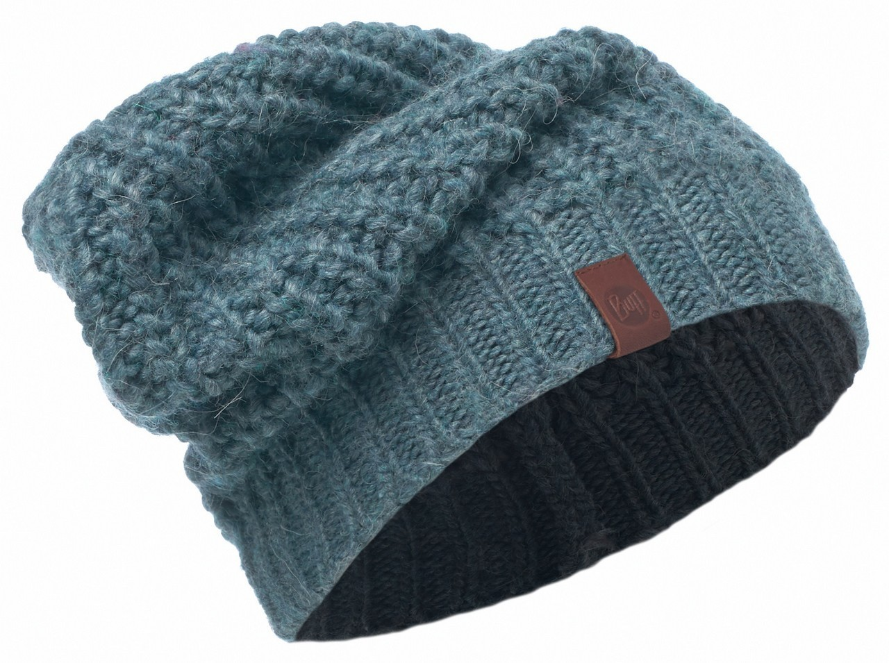 Вязаная шапка Buff Gribling Steel Blue