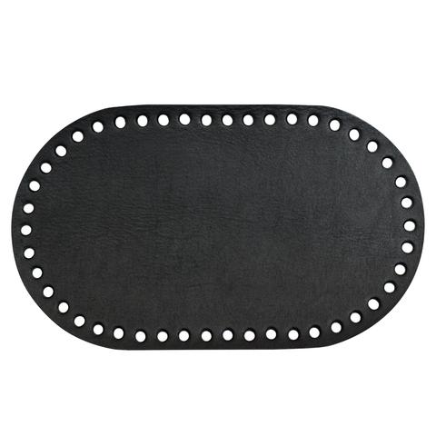 Дно. Натуральная кожа черное матовое 3 мм