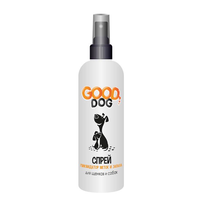 От пятен и запахов Спрей для собак и щенков, Good Cat, ликвидатор меток и запаха 14079.jpg