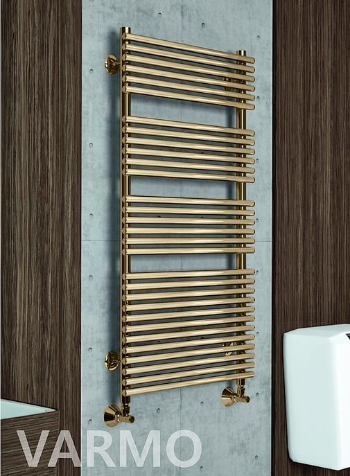Varmo E - электрический полотенцесушитель бронзового цвета