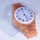 Часы наручные/металлический браслет, форма пластиковая