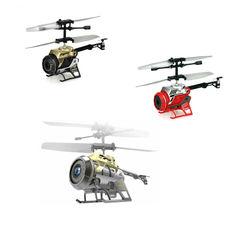 Silverlit Радиоуправляемый вертолет 3-канальный с камерой Spy Cam Nano (на аккум.) (84729)