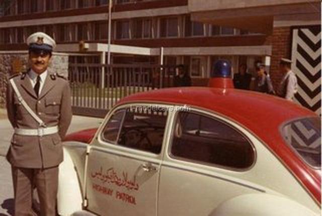 VW Beetle Volkswagen 1970 Afghanistan Police 1:43 DeAgostini World's Police Car #80