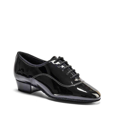 Туфли IDS для мальчиков, BOYS MT - BLACK PATENT