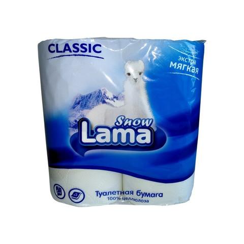 Бумага туалетная 2сл бел цел 17,5м 4рул/уп