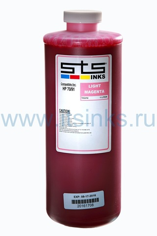 Латексные чернила STS для HP 2550/26500/28500/210/260/280/310/330/360 Light Magenta 1000 мл