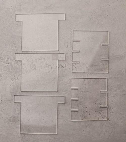 Разделители для формы КУБ на 3 и 4 ячейки