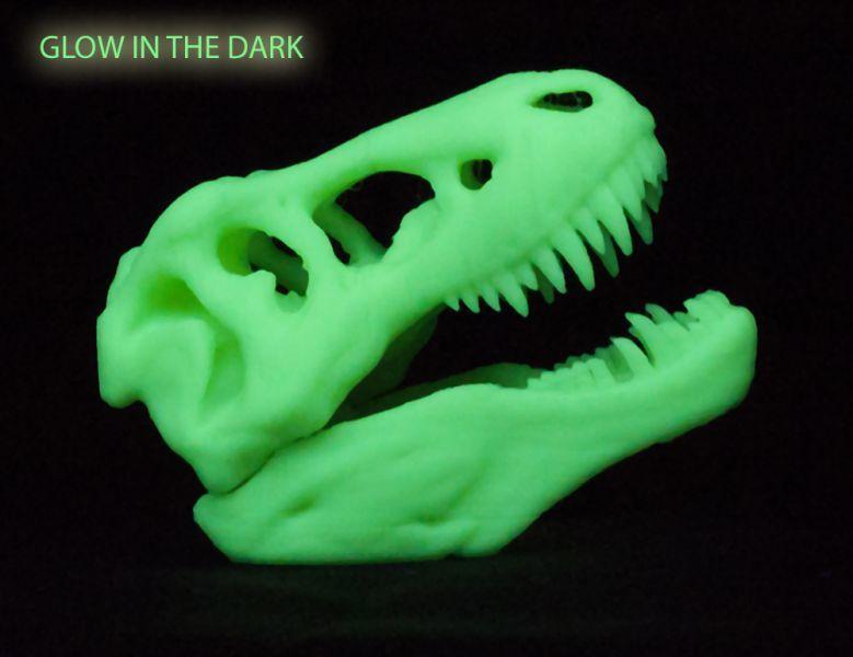 светящийся в темноте пластик для 3д принтера