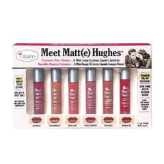 The Balm Набор матовых помад Matte Hughes Mini Set - Volume 2