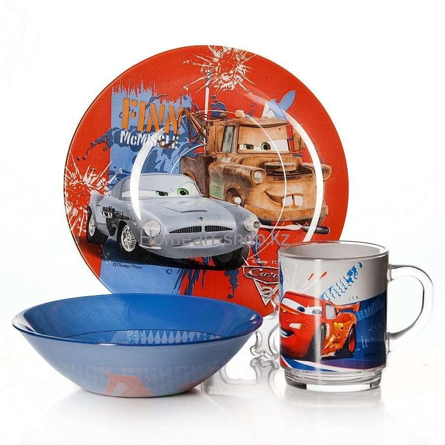 Набор детской посуды Luminarc Disney Cars 3 (Тачки- 3) - 3 пр.