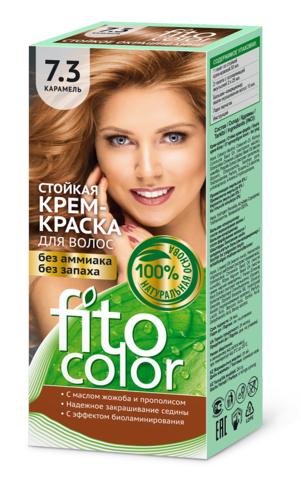 Фитокосметик Fito Color Стойкая крем-краска для волос тон Карамель 115мл