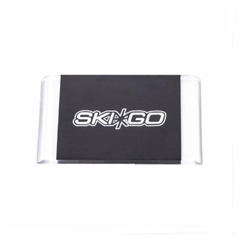 Очищающий лыжный скребок из оргстекла для мази держания Skigo Scraper Cleaning
