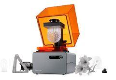 3D принтер Formlabs Form 1+ (SLA) - особенностью Form 1+ является возможность печати деталей с так называемыми частями, «висящих в воздухе», что редко могут предложить экструдерные (FDM) принтеры.