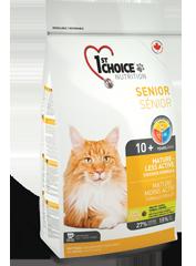 First (1st) Choice MATURE OR LESS ACTIVE для стареющих или малоактивных кошек