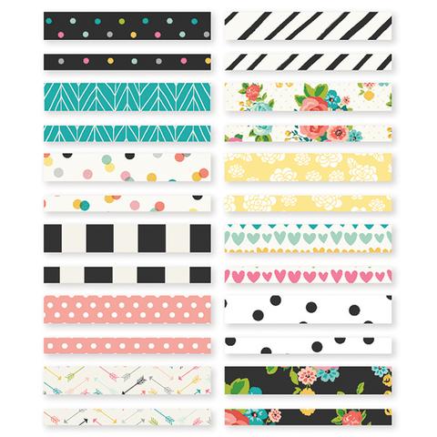 Декоративный скотч - WASHI PAPER TAPE