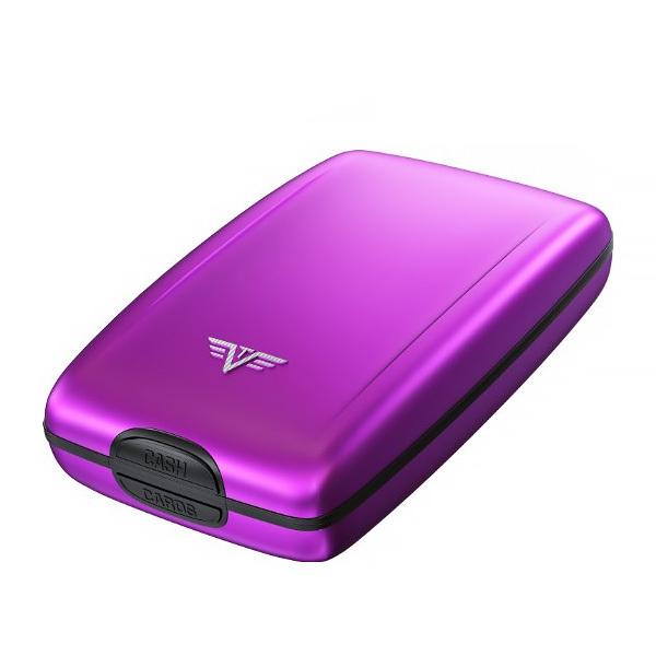 Кошелек c защитой Tru Virtu OYSTER 2, цвет лиловый, 110*69*28 мм