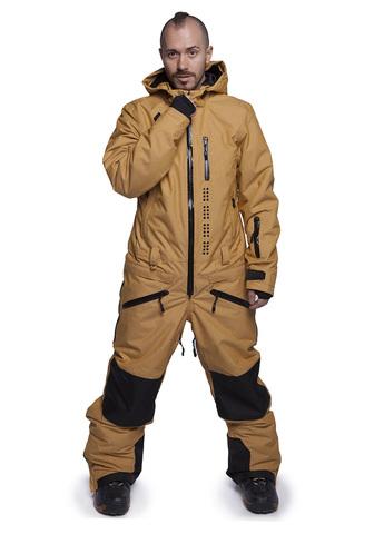 COOL ZONE KITE мужской сноубордический комбинезон желтый