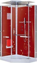 Душевая кабина LanMeng LM857 L (красная)