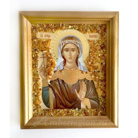Икона Святой Клавдии Анкирской