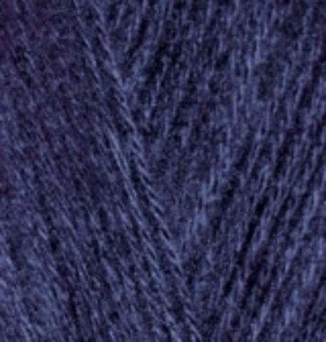 Пряжа Alize Angora Gold 58 темно-синий