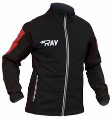 Утепленная лыжная куртка Ray Race WS Black-Red