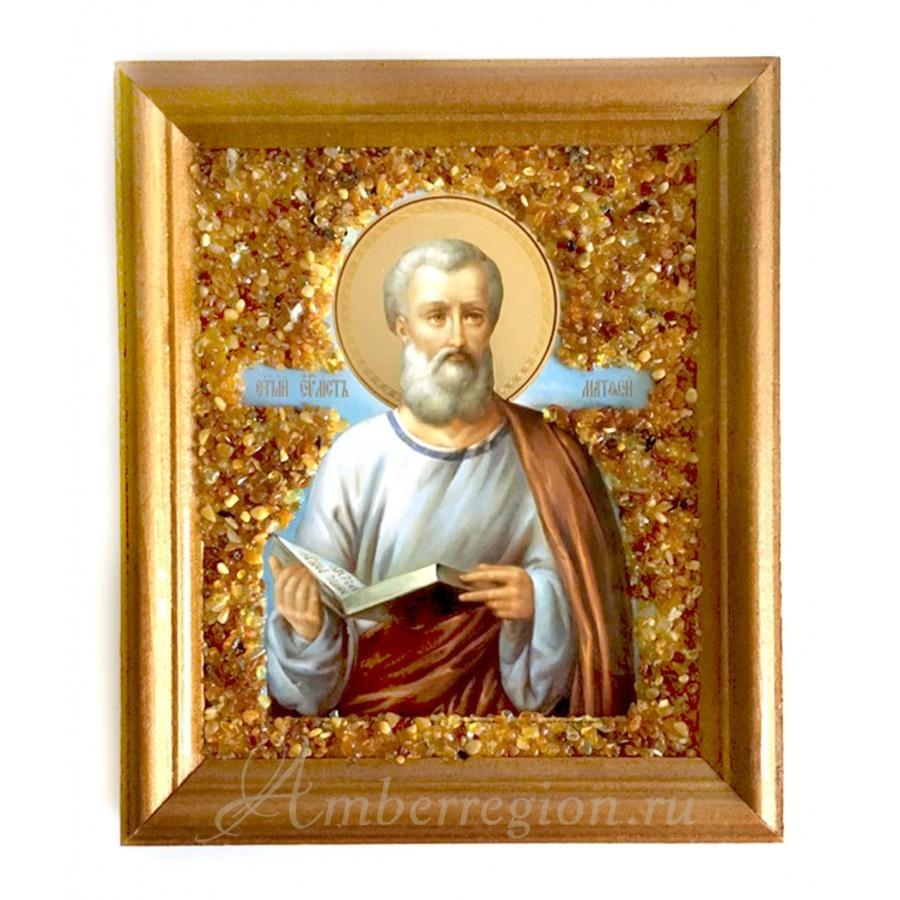 Икона евангелиста Матфея