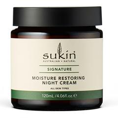 Восстанавливающий ночной крем, Sukin