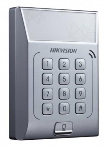 DS-K1T801E Терминал доступа со встроенным считывателем EM карт