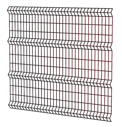 Сетка 1,53х2,5м  коричневая 8017 ППК  50х200мм / 3мм / 4Р  заборная 3D