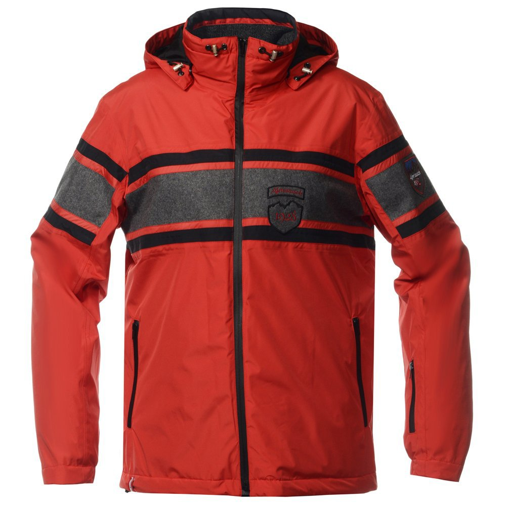 Мужская горнолыжная куртка Almrausch Staad 320103-2605 красная