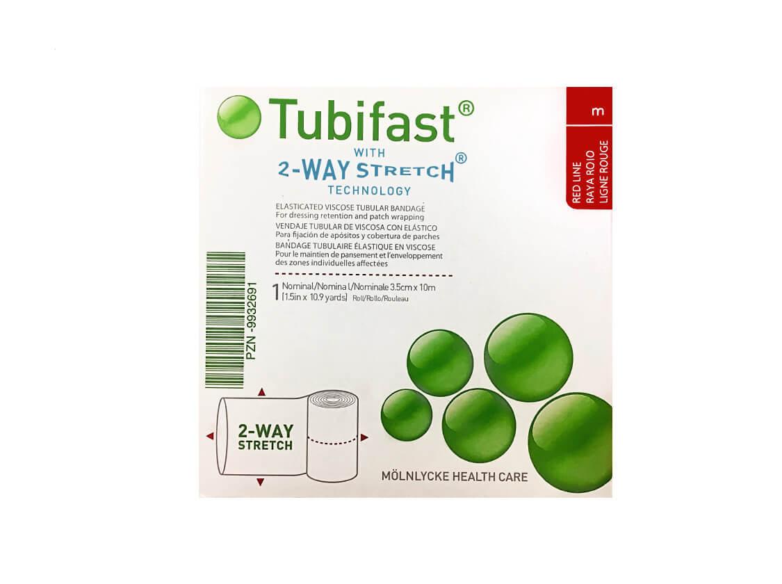Тубифаст (Tubifast) красная линия 3,5см х 10м