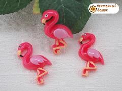 Пластиковый декор фламинго