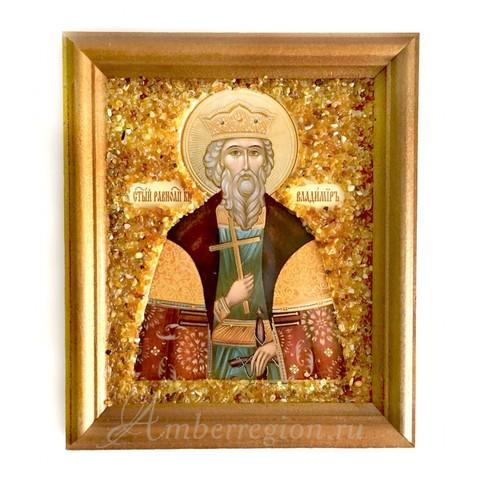 Икона Святого равноапостольного князя Владимира