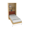 Шкаф-кровать вертикальная односпальная 90 см