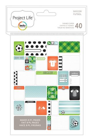 Маленький набор карточек Life Project- Soccer 40шт