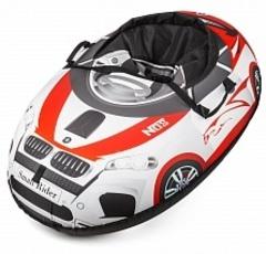 Тюбинг Small Rider Snow Cars BM (бело - красный)