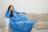 Плед с рукавами Sleepy Original небесно-голубой