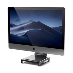 Подставка-док станция Satechi USB-C Aluminum iMac Stand with Built-in USB-C серый космос