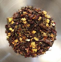 Ароматизированный чай Вишневая фантазия зеленый