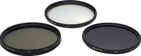 Набор фильтров RAYLAB UV/CPL/ND8 67mm