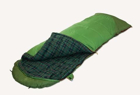 спальник Alexika SIBERIA Plus зеленый