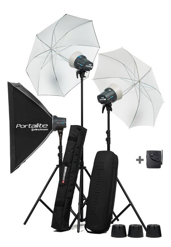 Elinchrom Dlite RX One 3 Heads Kit