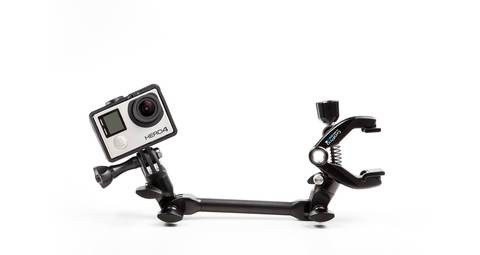 Крепление для музыкальных инструментов GoPro AMCLP-001 The Jam-Adjustable Music вид с камерой