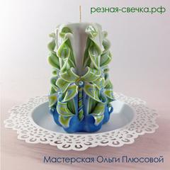 Резная свеча - Весна