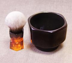 Чаша для бритья Squadro Hexum black