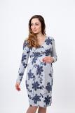 Платье 09752 узорный