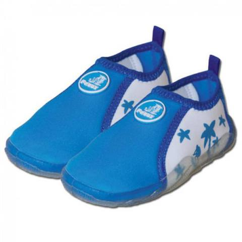 Аква-обувь для пляжа, голубая, р. 22-28