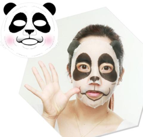 BERRISOM Animal Маска таканевая экстрактом ежевики Animal mask series - Panda